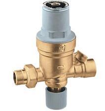 "Caleffi 553549A 1/2"" Sweat Inlet x 1/2"" FNPT Outlet AutoFill Boiler Fill Valve"