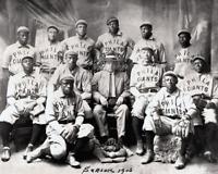 Negro Leagues 1906 Philadelphia Giants Team Photo 8 X 10 Photo Picture