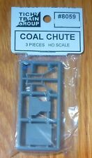 Tichy Train Group #8059 (HO Scale) Retail Coal Dealer Truck/Wagon Loading Chute