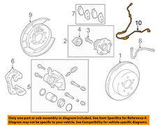 TOYOTA OEM ABS Anti-lock Brakes-Rear Speed Sensor Left 8951612170