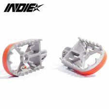 KTM WIDE FAT FOOT PEGS / FOOTREST 1999-2015 (ALL MODELS)  SX SXF EXC 125 200 450