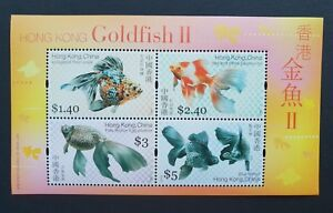 China Hong Kong 2005 Gold Fish II S/S