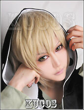 596 Kagerou Project/Mekaku City Actors Kano Shuuya Short linen cosplay wig