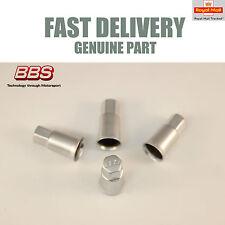 4x Genuine BBS Valve Dust Caps Aluminium CH CH-R RX RW CS SR Porsche NEW