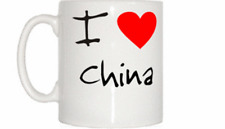 I Love Heart China Mug