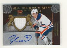 Taylor Hall 11-12 Crown Royale All the King's Men Jersey / Autograph 020/100