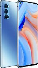 """NUOVO Oppo Reno 4 PRO 5G Blue 6.55"""" 256GB DUAL SIM 5G Android 10 SIM Gratis Sbloccato"""