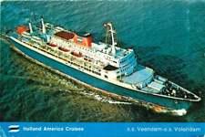 "Postcard Steamship ""Veendam"" & SS ""Volendam: - used in 1978"