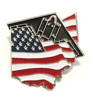 B-2 Spirit Stealth Bomber LAPEL PIN/HAT PIN USA Flag Design Over Ohio