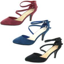 Stiletto Spot On Synthetic Upper Casual Heels for Women