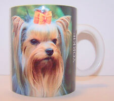 Cup Mug Yorkie Dog Animal Yorkshire Terrier Pet Show Dog