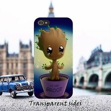 Cartoon Baby Groot Animation Kids Phone Case Cover Fits iPhone, Samsung models