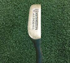 "Northwestern J.C. Snead 408 Putter /  RH  / ~35"" / Original Grip / Nice / mm3988"