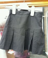 Next girls school skirt aged 4years black