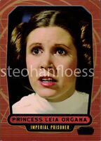 2013 Topps Star Wars Galactic Files Blue Parallel #361 Princess Leia 021/350