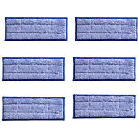 6 pack Washable Wet Mopping Pads replacement for iRobot Braava Jet 240 vacuum