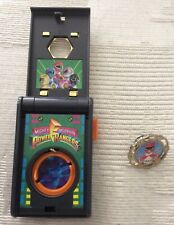 1993 Bandai Mighty Morphin Power Rangers Communicator Launcher w/Spin Fighter