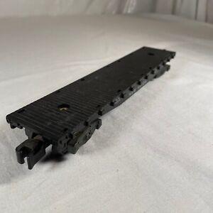 American Flyer 24539 New Haven Black Flat Car Only Missing Side Rails