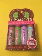 4 Lip Smacker Balms ~ Sweet & Salty Collection ~Salted Caramel Pretzel Chocolate