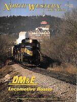 North Western Lines Winter 1997 DM&E Locomotive Roster Black Hills South Dakota