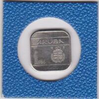 50 cents Aruba 1986 Niederlande Netherlands