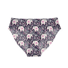 Elephant Floral Women Seamless Briefs Panties Knickers SEXY Lingerie Underwear L