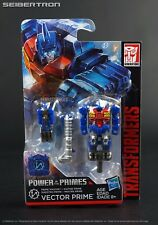 Prime Master VECTOR PRIME / METALHAWK Transformers Power of the Primes New