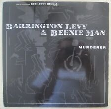 "BARRINGTON LEVY & BEENIE MAN - MURDER 12"" 1995 Reggae/Dub/Dancehall"