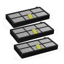 Pack 3 Filtros Hepa, compatible Filtro Roomba 800, Filtro Roomba 870, Filtro Ro
