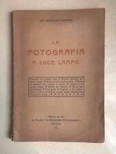 LA FOTOGRAFIA A LUCE LAMPO NAMIAS IL PROGRESSO FOTOGRAFICO 1914