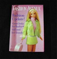 1997 Barbie Kelly Fashion Avenue Doll Clothes Catalog Booklet Mattel Reference