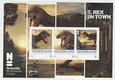 Nederland 3012-D-XX Postset Naturalis T-Rex in Town postfris vel en kaarten