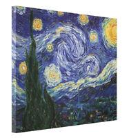Starry Night by Van Gogh Fine Art Giclee CANVAS Print Gallery Wrap Home Decor
