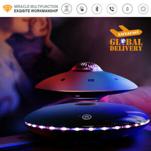 Magnetic Levitation Floating LED UFO 3D Wireless Bluetooth Speaker