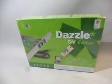 DAZZLE DVD EDITOR CARTE ET CABLE FIREWIRE POUR TOUT CAMESCOPE DV NEUVE