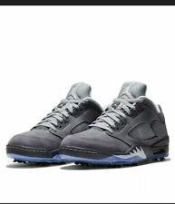 Nike Air Jordan 5 V Low G Wolf Grey Retro Golf Shoes Size 13