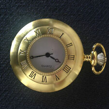 POCKET WATCH NO. 68 GOLD COLOURED HUNTER DESIGN COLLECTABLE