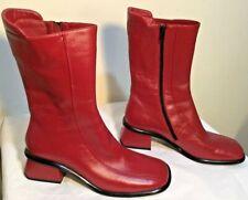 Size AU 9 / EUR 40 / UK 7 / US 9 Women's Top Class Leather Mid-Calf Boots