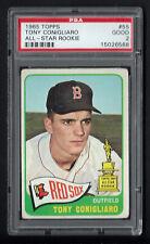 1965 Topps #55 Tony Conigliaro PSA 2 All-Star Rookie Boston Red Sox