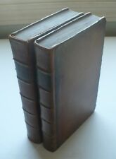 RARE 1774 BOOK CORK IRELAND, 2 VOLUMES, FOLD-OUT ENGRAVED PLATES AND MAP