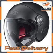 Nolan N21 Visor Classic Open Face Motorcycle Motorbike Helmet - Matt Black