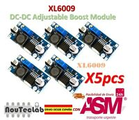 5pcs XL6009 DC-DC Booster module Power supply adjustable Super LM2577 step-up