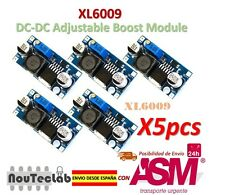 5pcs XL6009 DC-DC Booster module Power supply adjustable Super LM2577 step-up