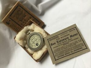Vintage Watkins Bee Meter - Boxed With All Instructions