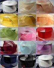 Unifarbene Bastel-Bänder aus Taft