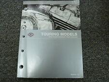 2012 Harley Davidson Road King Glide Ultra Tour Motorcycle Parts Catalog Manual