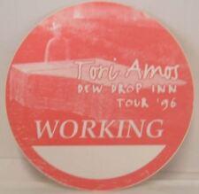 TORI AMOS - VINATGE ORIGINAL TOUR CONCERT CLOTH BACKSTAGE PASS