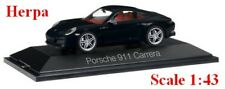 Porsche 911 Carrera Coupé 991 Phase II noire - HERPA -  Echelle 1/43