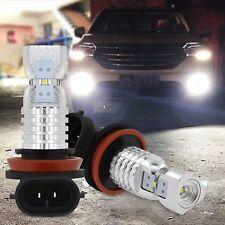 2x H8 H11 H16 6000K White 100W High Power 2020smd LED Fog Light Driving Bulb DRL