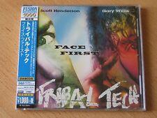 """TRIBAL TECH   SCOTT HENDERSON  GARY WILLIS """"Face First"""" Japan CD  24bit"""